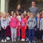 Journée de partage à l'école Jeanne d'Arc & Opération Flamiche