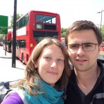 Le 26 mai 2015 - Londres, notre départ :)