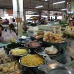 Marché local Thaï
