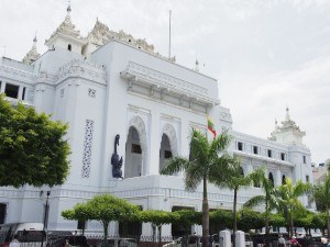 Hotel de ville - Yangon