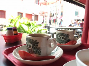 Petit déjeuner à Chinatown