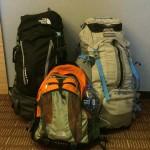 Matériel tour du monde  - contenu des sacs