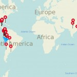 Quelques chiffres de notre tour du monde - la suite!